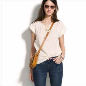 Madewell Broadway and Broome Farmstand Popover Top